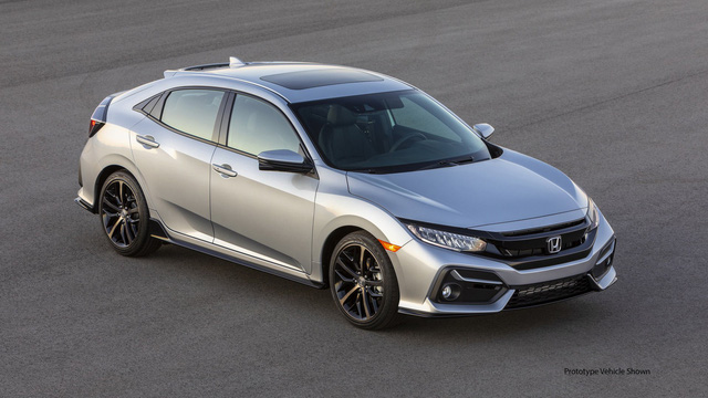 Thay đổi thiết kế, nâng cấp công nghệ với Honda Civic 2020