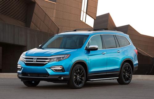 Honda Pilot 2016 - SUV gia đình giá 30.000 USD
