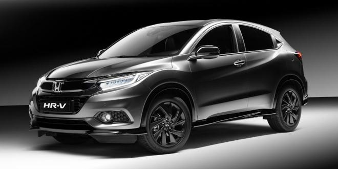 Honda giới thiệu HR-V Sport sử dụng động cơ 1.5L Turbo